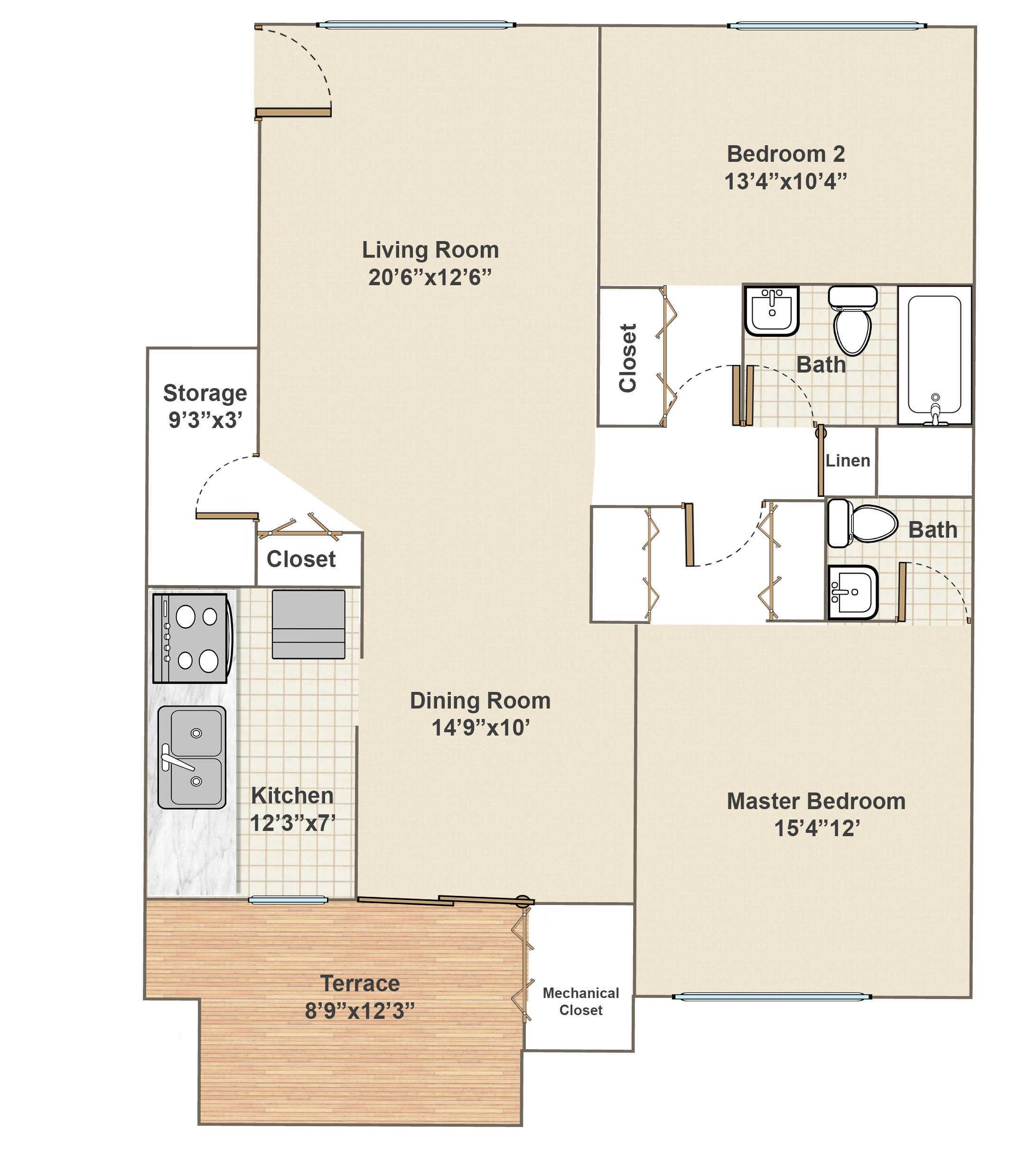 apartments in bryn mawr pa radwyn floor plans u0026 rents